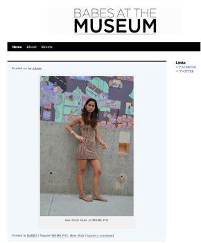 anaat the museum