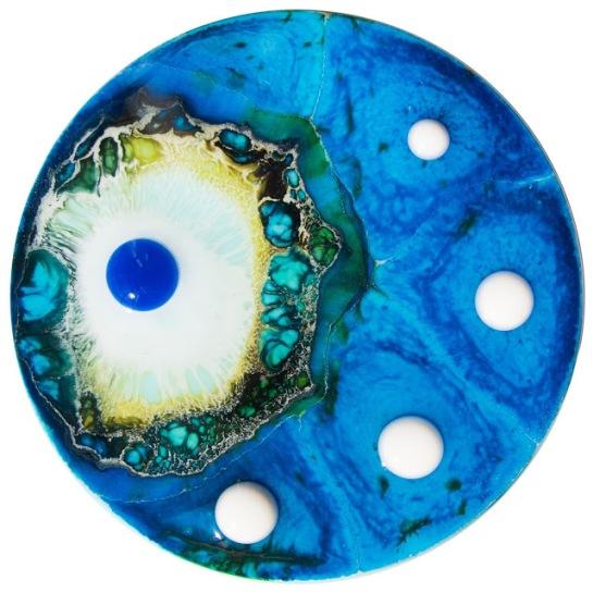 Petri Dish Art by Klari Reis
